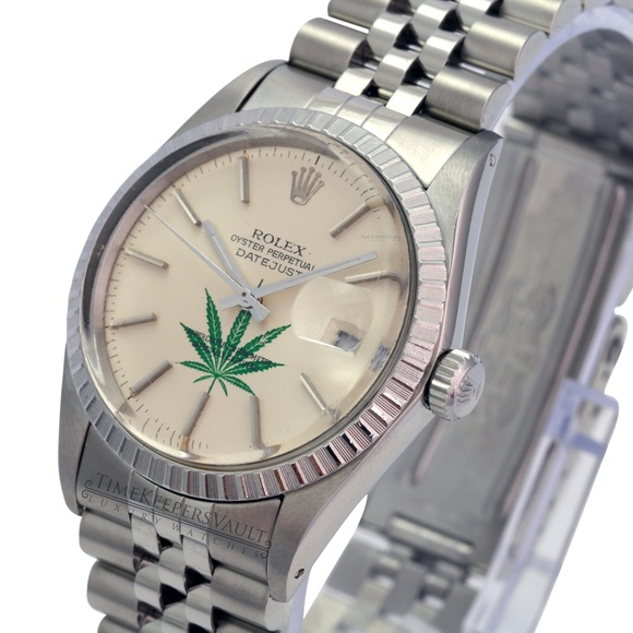 Rolex Other - Rolex Mens Datejust Silver Dial 36mm Watch